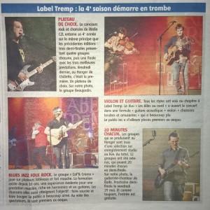 Un petit compte-rendu de la première soirée 2015 de Label-Tremp